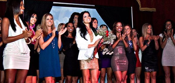 Rockets Power Dancers 2012 Calendar Release Party